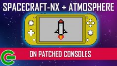 FLASHING SPACECRAFT-NX AND RUNNING ATMOSPHERE ON PATCHED SWITCH